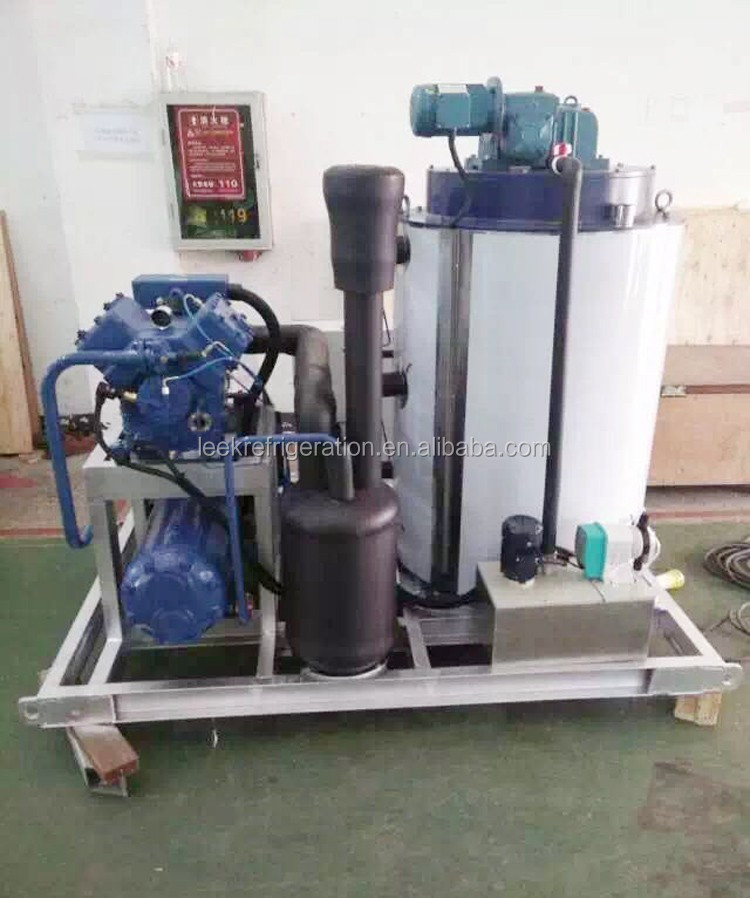 BTK series water cooled sea water ice plant