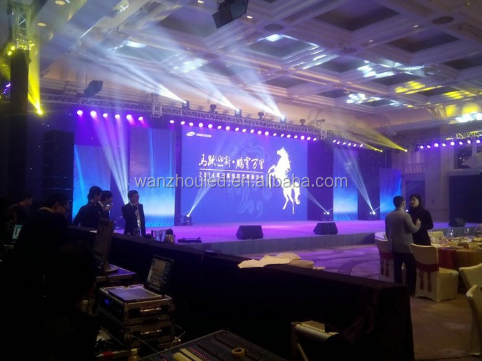 High Resolution Rental Stage Background LED Display Big Screen