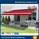 New Style commercial retractable awnings