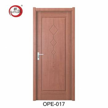 Manufacturer Latest OEM Standard Size Construction Room PVC Wood Flush Door