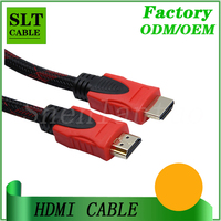 SLT Braided Durable HDMI Cable with Gold Plated