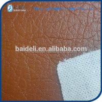 customized design high quality pvc synthetic artificial leather for sofa upholstery