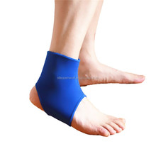 Breathable neoprene sports double elastic adjustable ankle support as seen on tv