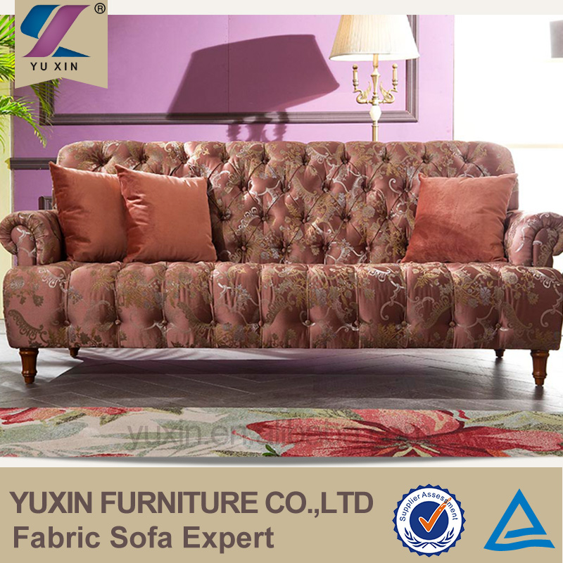 Italian polyester fabric furniture for sale royal sofa set for Fabric couches for sale