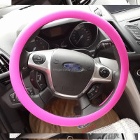 17 colors Glow In The Dark colorful non-toxic heat resistant ordorless silicone steering wheel cover