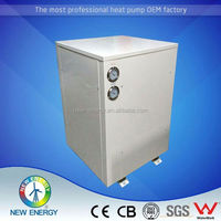 High convertion heat pump for low temperature -25 china supplier evi air to water source heat pump