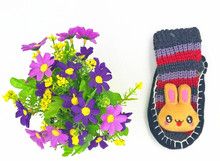 Baby boys and baby girls wholesales winter warm knitted cartoon shoes