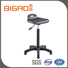 Professional Lab Furniture Adjustable Stainless Steel Swivel Lab Stools