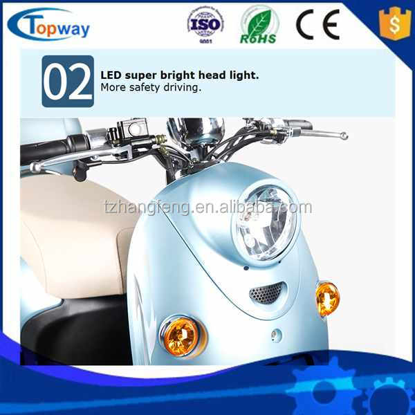 Hand throttle Factory Manufacture 3 Passenger Carriage motocycle