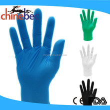 Free Sample Blue Disposable Medical Latex Gloves