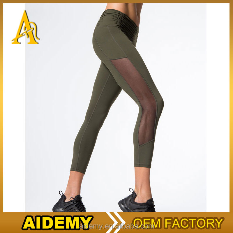 Womens Performance Pro Training Yoga Tights Athletic Gym Workout Fitness Leggings