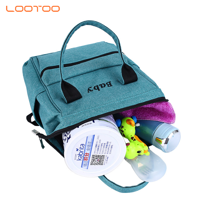 Multifunctional portable folding diaper mommy bag / baby travel bed
