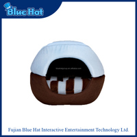 2016 New pet products soft plush bed for dog