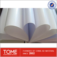 Outdoor Advertising Poster Material Waterproof Durable Printing Pvc Flex Banner Glue