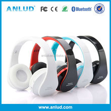 ALD06 2014 Latest new unique stereo fashionable bleutooth headphone with noise cancelling