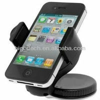 360 Degree Car Mount Windshield Cradle Holder Stand for Cell Phone Apple Iphone 4 4s 5