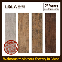wood design ceramic floor tile,25 years factory,new store no profits for sale