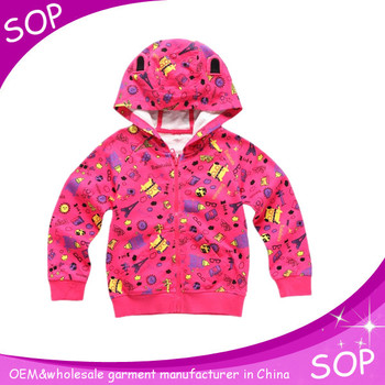 girls stylish kids cool fitted hoodie supreme clothing