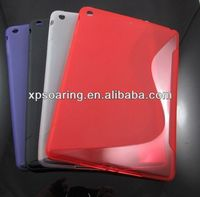 S line tpu soft case skin cover for ipad air ipad 5