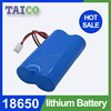 Free Shipping icr18650 2s1p 7.4v 2200mah Li ion Battery Pack