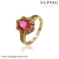 13127-Xuping Professional Design Elegant Shining Jewelry Crystal Engagement Ring