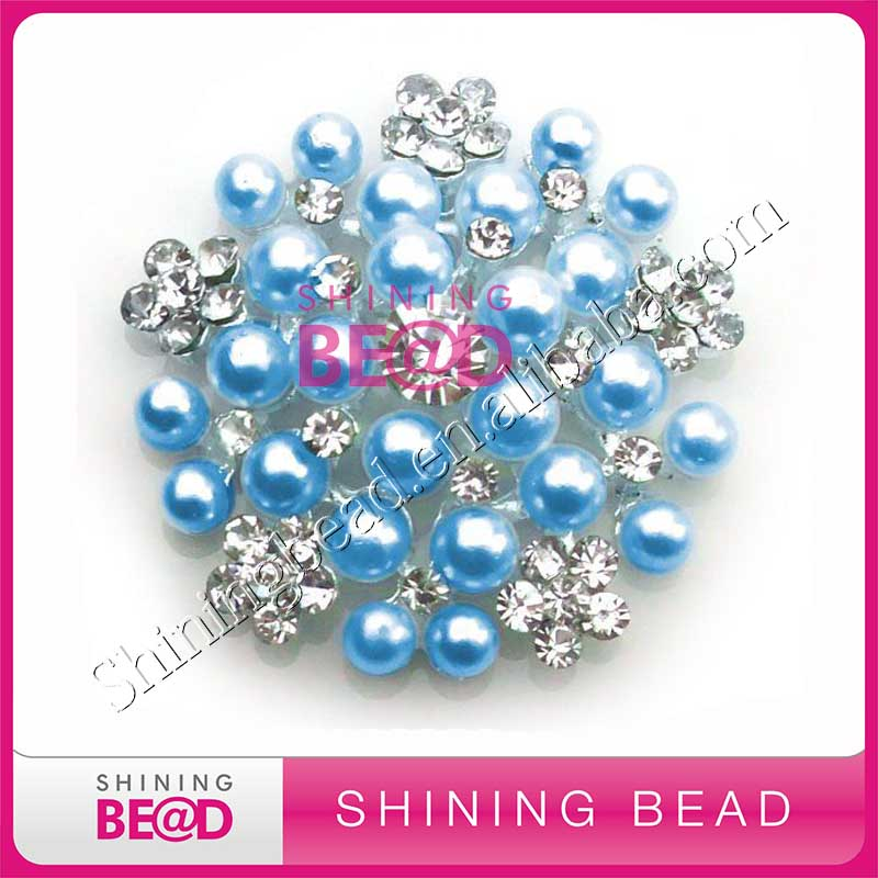 Pearl Rhinestone Vintage Style Brooches Wholesale Brooches