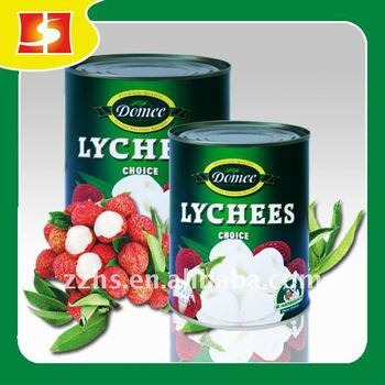 Canned Lychee in syrup Canned Fruit