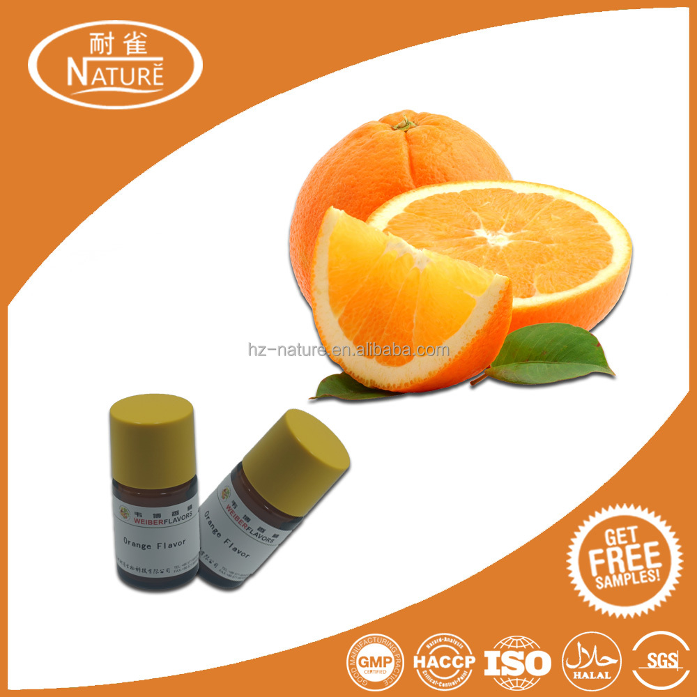 Strong rich orange flavor with natural and fresh aroma fruit flavor flavouring concentrate