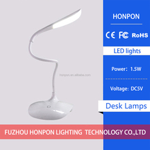 LED Desk Lamp Touch Switch Flexible LED Reading Lamp 3-level adjusted brightness Rechargeable LED Light.