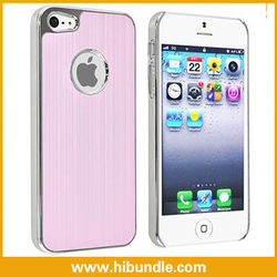 brushed case for iphone 5 HOT SELLING. Brushed metal phone covers