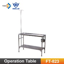 FT-823S/M/L stainless steel clinic examination table portable exam tables veterinary equipment