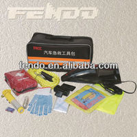 multifunction high performance auto emergency disaster survival tool kit