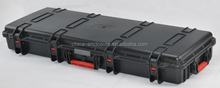 IP67 Plastic flight case trolley case hard gun cases