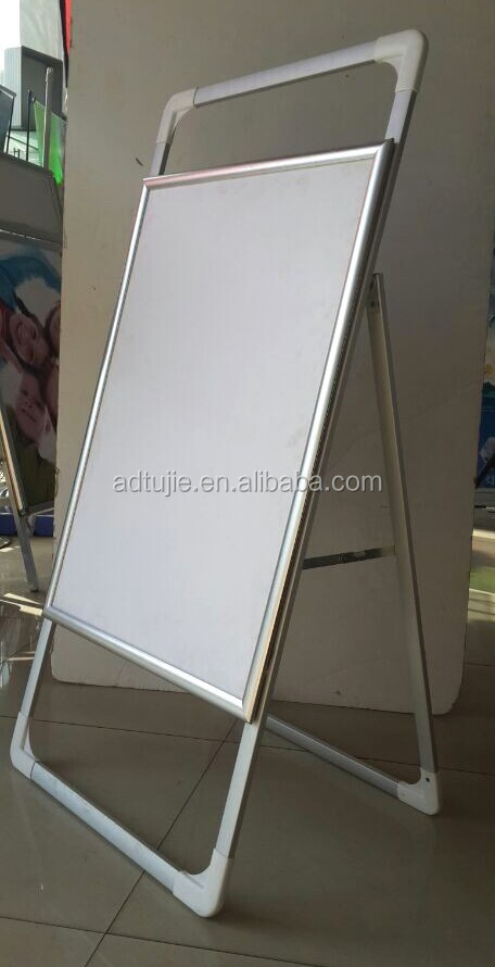 poster stand hair salon sign board
