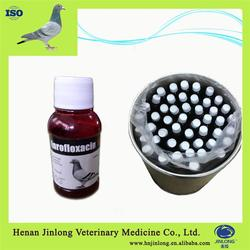 Pharma Products for Pigeons Drugs Enrofloxacin Oral Liquid