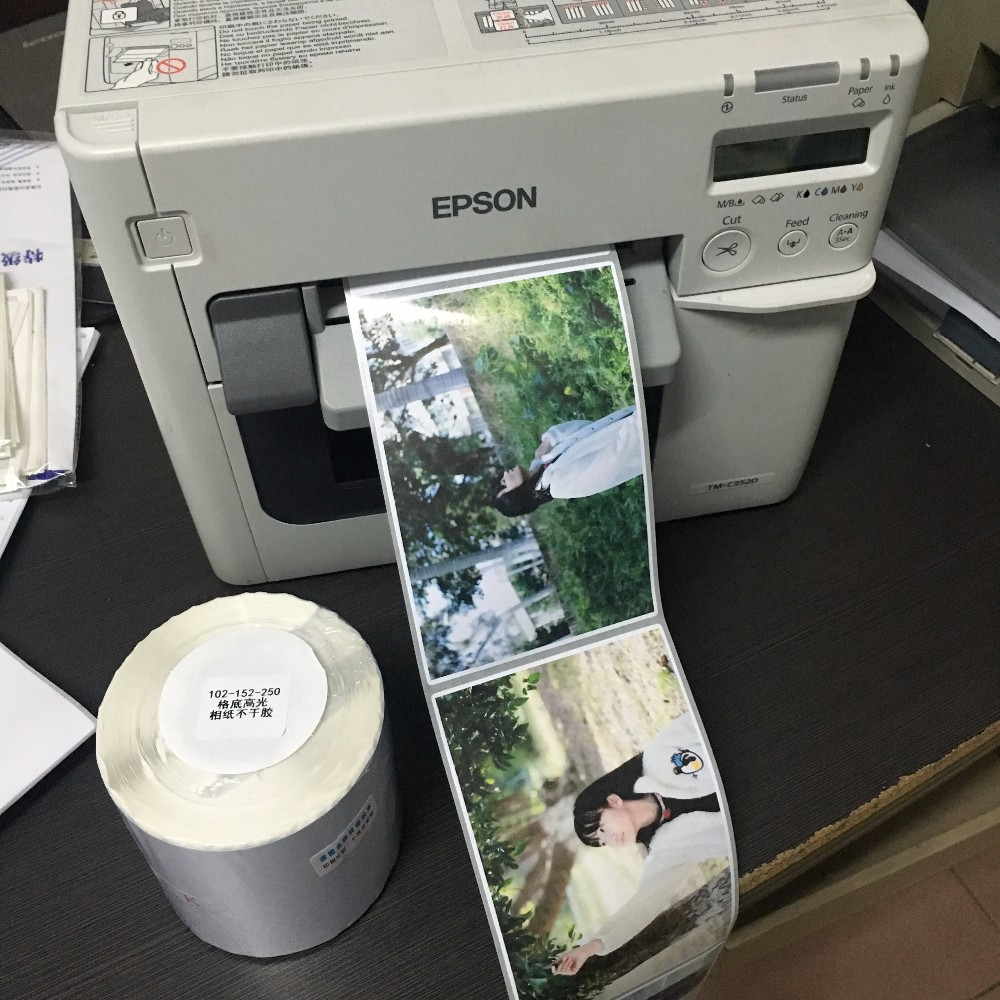 Color printer label - Color Label Printing Service Full Color Sticker Maker For Medicine Shop Or Packing Labels
