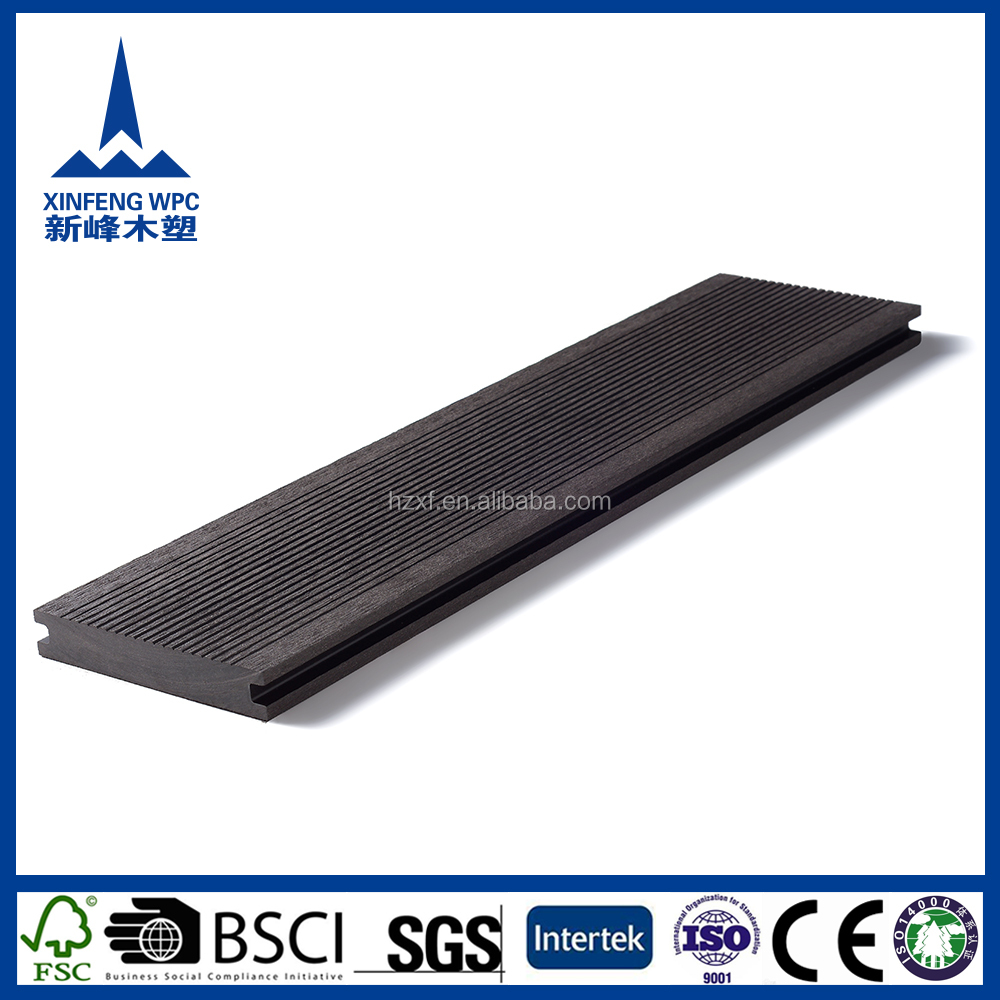 Anti-slip weather-resistant durable WPC decking floor