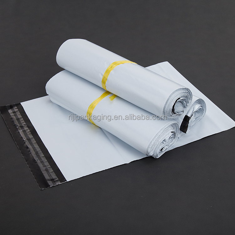 Custom White Poly Mailer Plastic Shipping Mailing Bag Envelopes Poly mailer courier bag