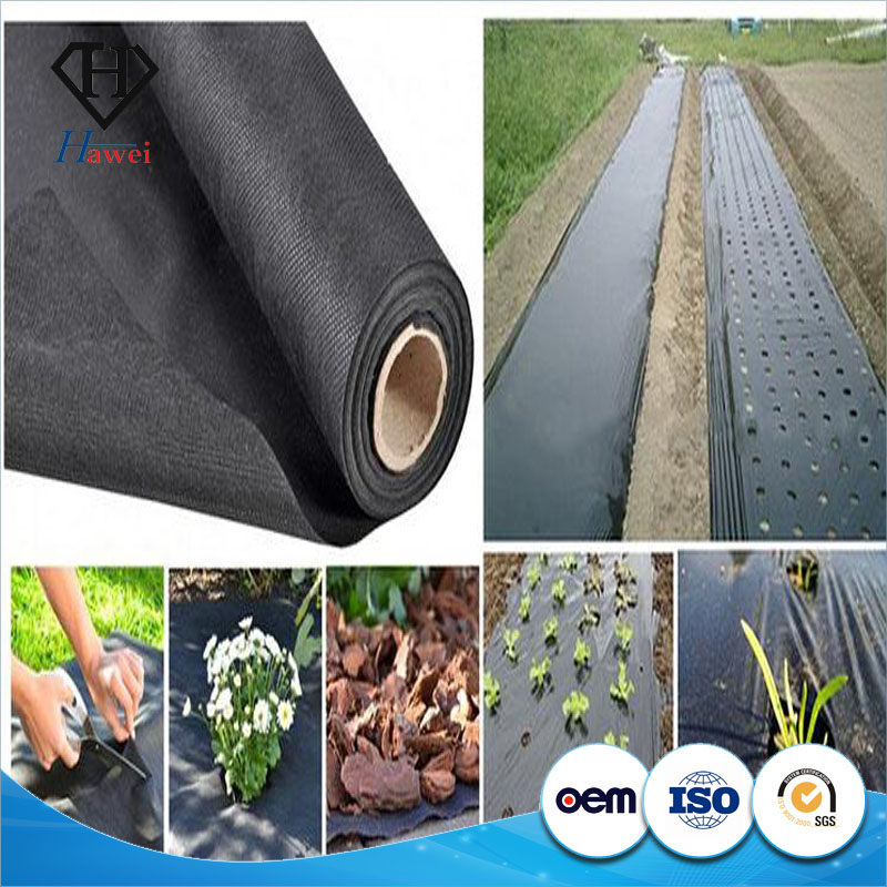 Environmentally Safe Long Term Plastic Weed Mat Ground Cover