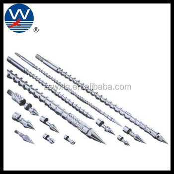 screw barrel for plastic process screw barrel for injection molding machine small injection screw barrel