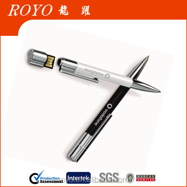 2015 High quality metal pen with usb flash drive U0611