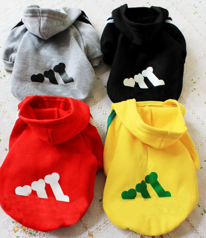 Pets Clothes Dog Coats Soft Fleece Puppy Dog Winter Warm Clothes Outdoors XS-XXL