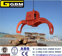 25t Electro hydraulic timber grab buckets