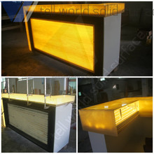 Restaurant refrigerated bar counter/ Commercial bar tops/bar counter led