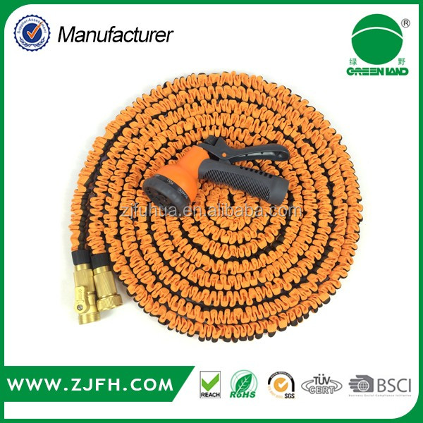 [GREENLAND]TV Shopping Products Stretch hose/clever hose/magic spray nozzle flexible Garden Hose
