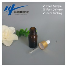HNC Amber Glass Anointing Oil Bottles Essential Oil Pipette Bottles