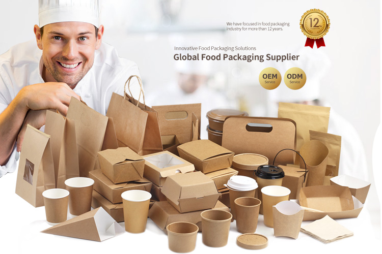 recyclable kraft paper bags, reusable shopping paper bags