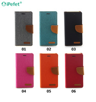 Wholesale High Quality luxury Wallet Flip Leather mobile case for iphone6s