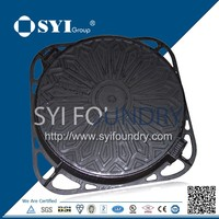 Double Seal Heavy Duty Ductile Iron Manhole Cover and Frame
