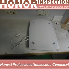 The Seninor drop ship electronics commercial inspection